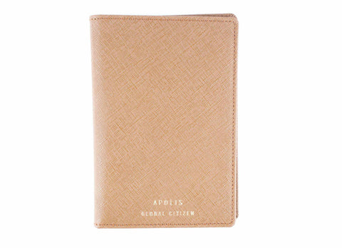 Transit Issue Passport Holder, Tan