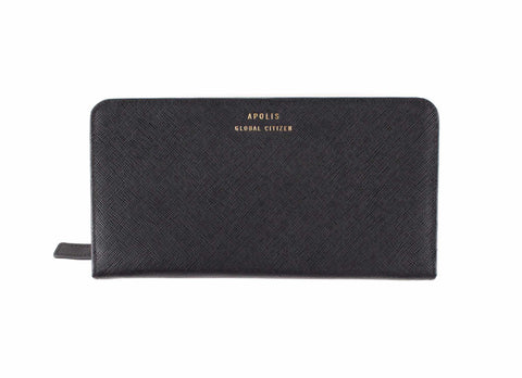 Transit Issue Passport Wallet, Black