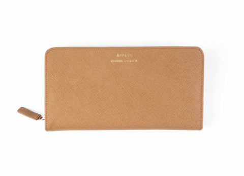Transit Issue Passport Wallet, Tan