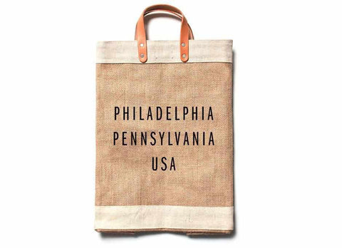 Philadelphia City Series Market Bag