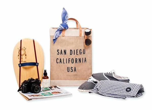 San Diego City Series Market Bag