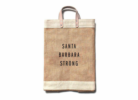 Santa Barbara Strong Market Bag
