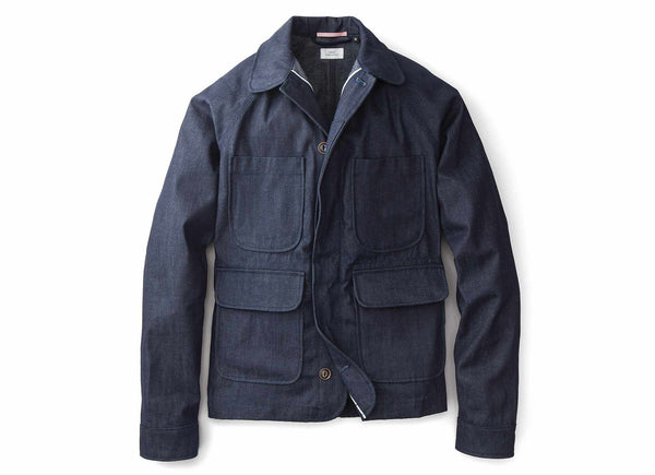Selvedge Denim Chore Jacket