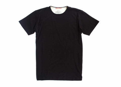 Standard Issue Organic Crew Neck T-Shirt, Black