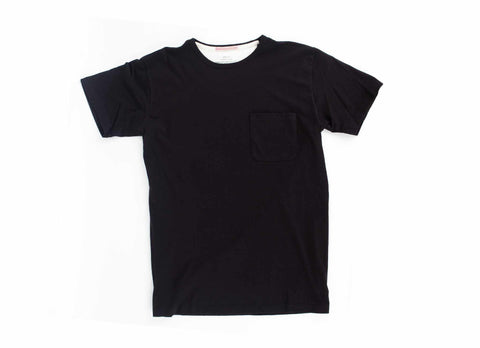 Standard Issue Organic Pocket T-Shirt, Black