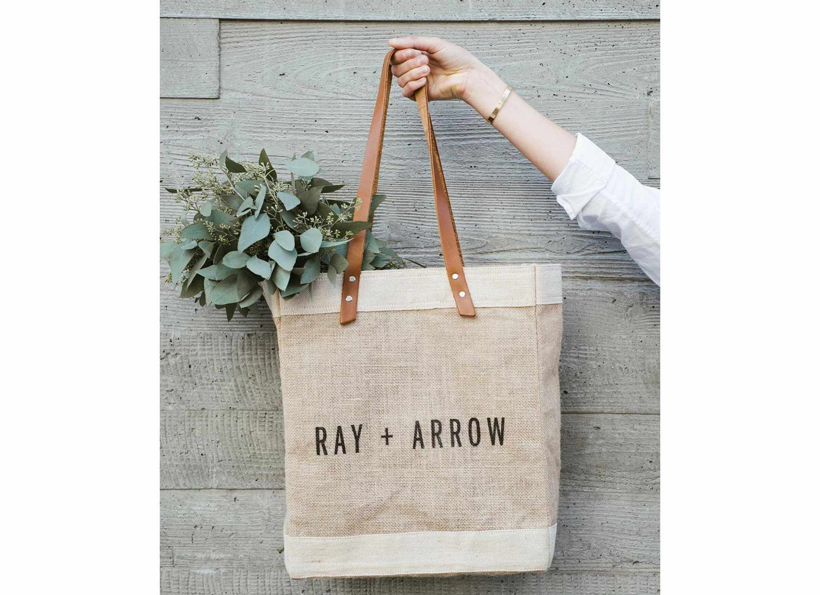 Customized Standard Market Tote - Wholesale