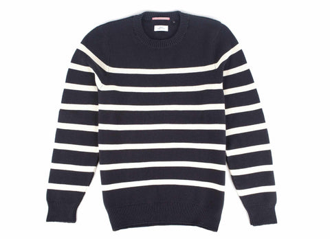 Stripe Nautical Sweater, Navy