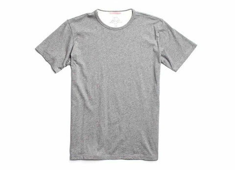 Standard Issue Organic Crew Neck T-Shirt, Heather