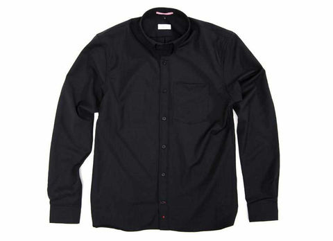 Transit Issue Merino Shirting, Black