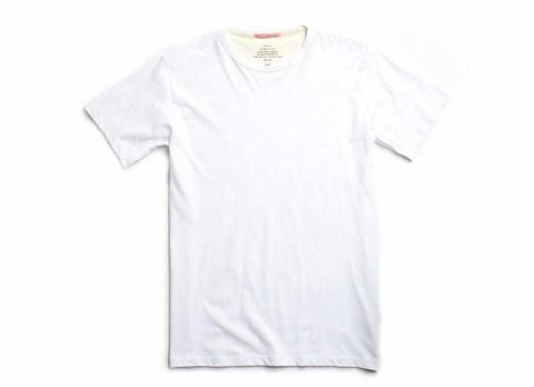 Standard Issue Organic Crew Neck T-Shirt, White