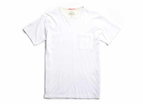 Standard Issue Organic Pocket T-Shirt, White