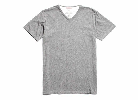 Standard Issue Organic V-Neck T-Shirt, Heather