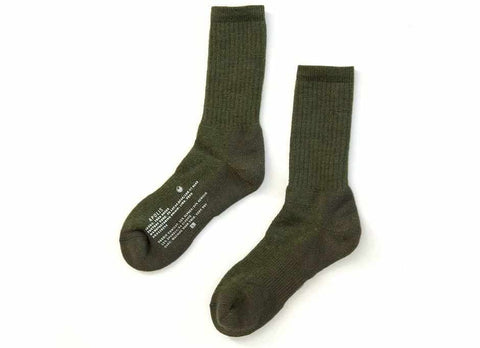 Transit Issue Alpaca Trek Socks, Army