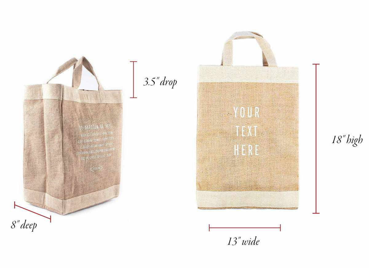 Customized Simple Tote - Wholesale