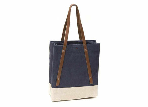 Apolis + Scribe Wine Tote, Navy
