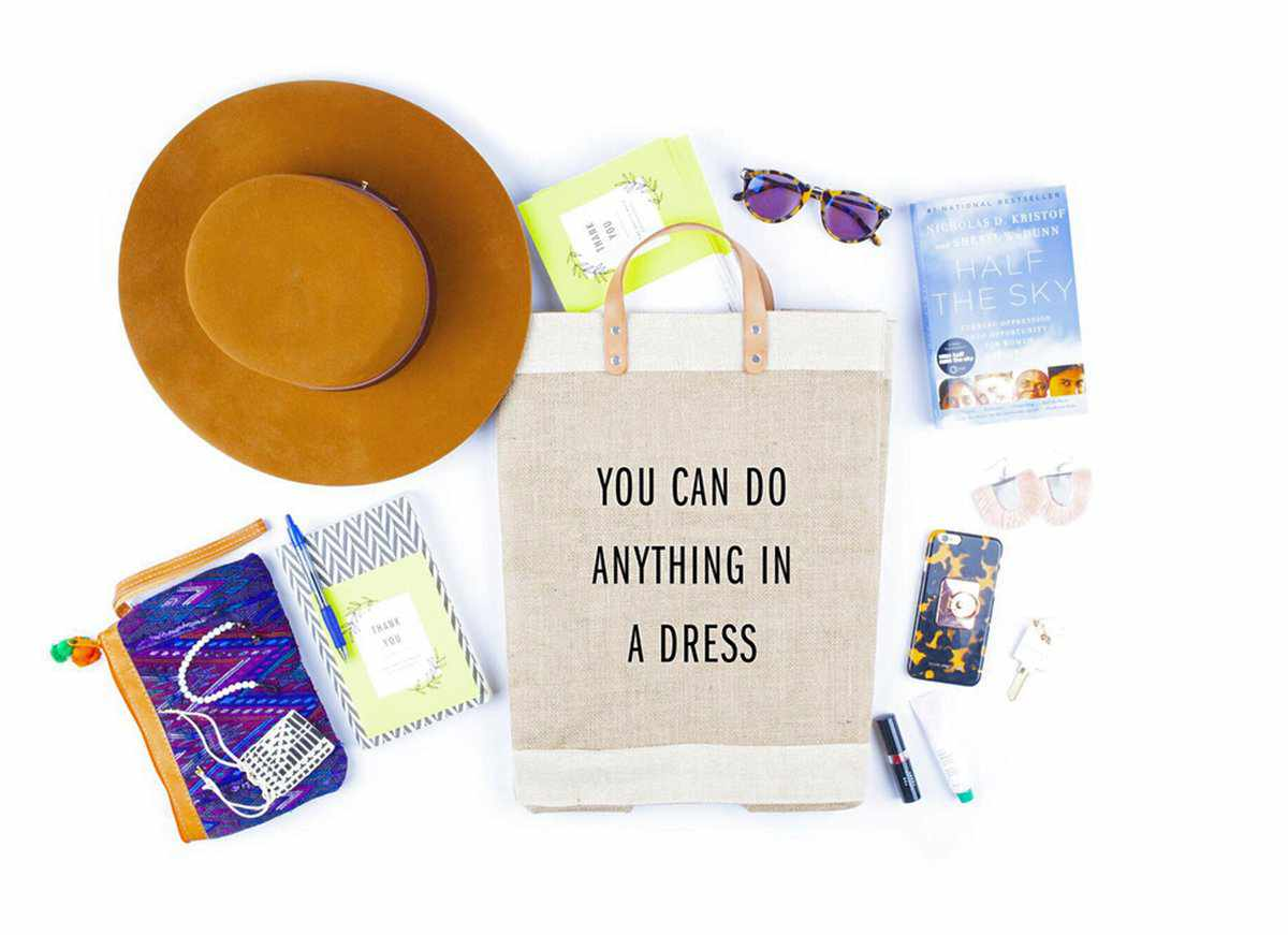 'I Work Too Much' Work Market Bag