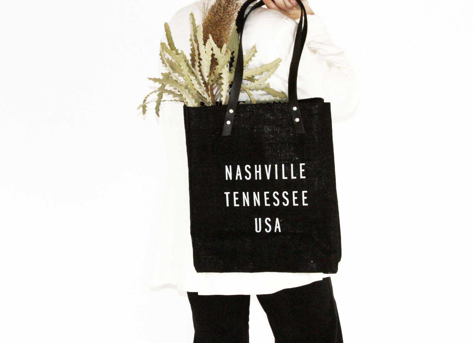 Customize Your Standard Tote in Black