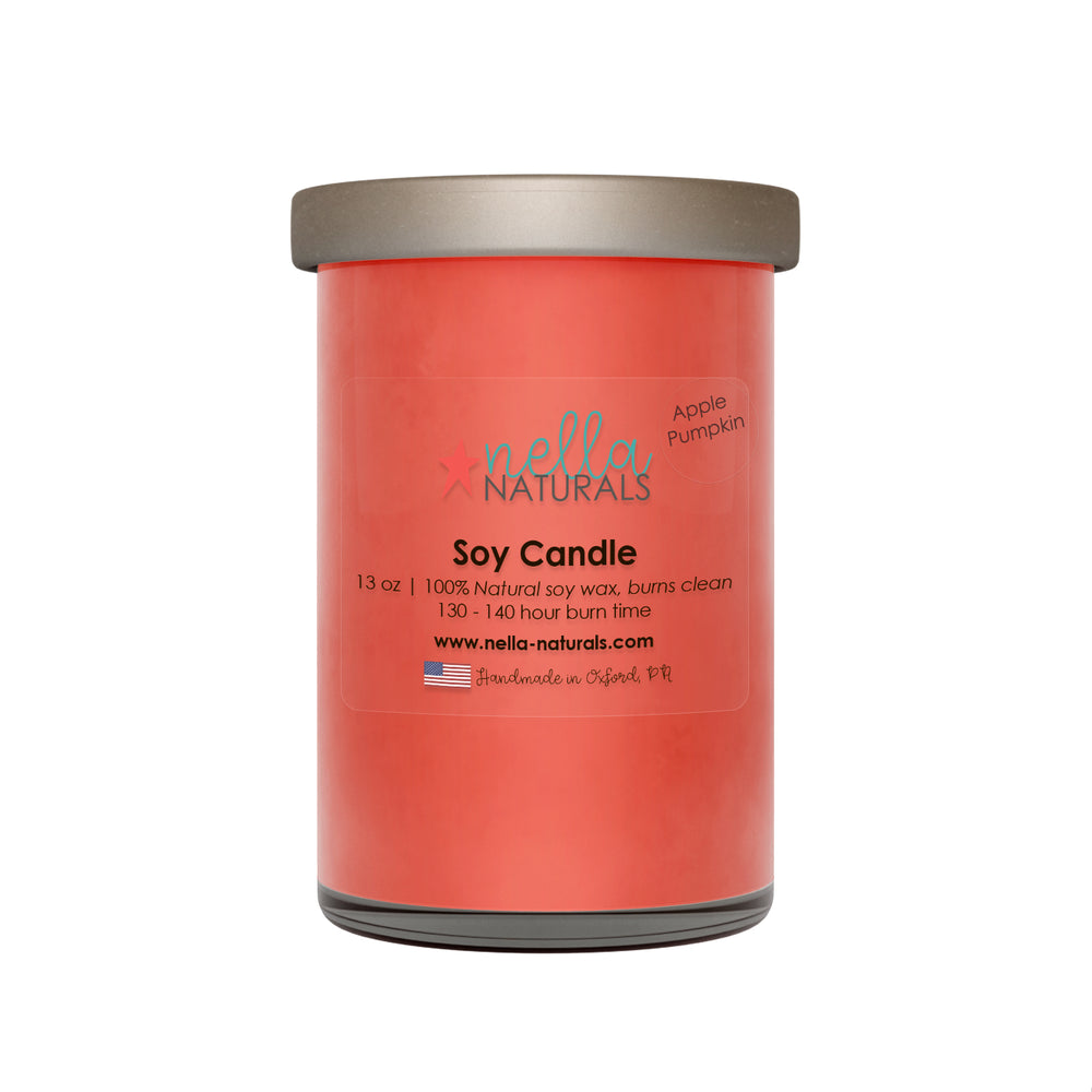 Apple Pumpkin Soy Wax Candle