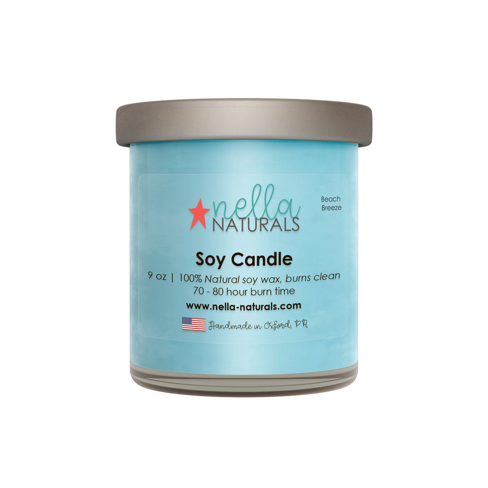Beach Breeze Soy Wax Candle