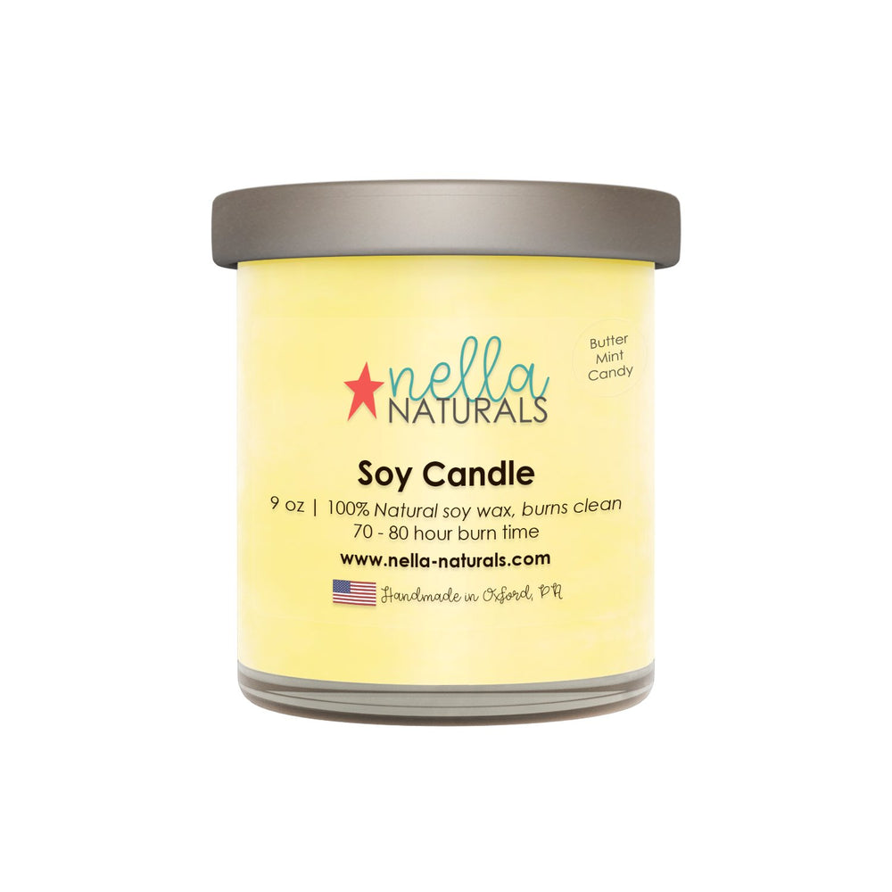 Butter Mint Soy Wax Candle