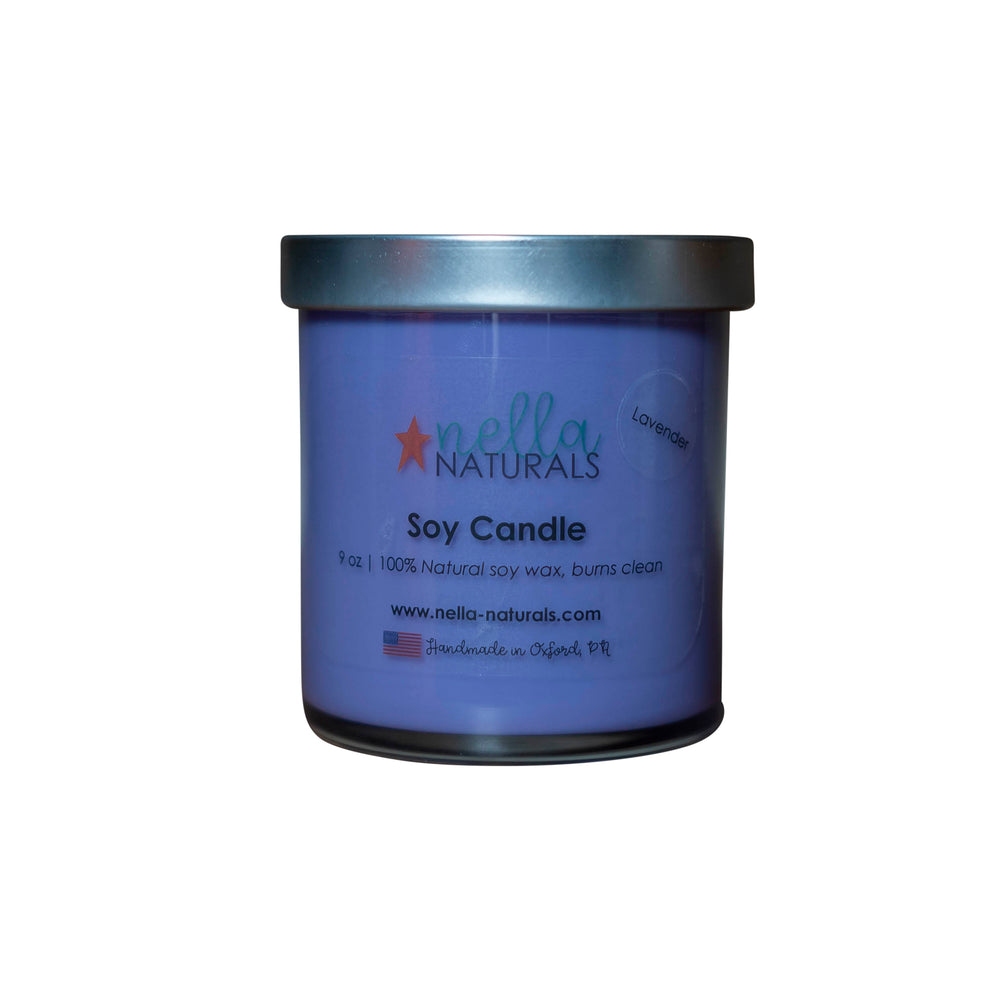 9oz Lavender Soy Wax Candle