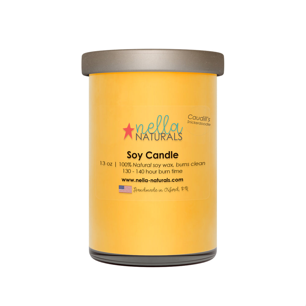 13oz Caudill's Snickerdoodle Soy Wax Candle