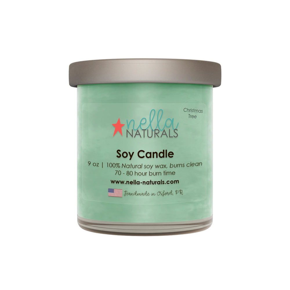 9oz Christmas Tree Soy Wax Candle