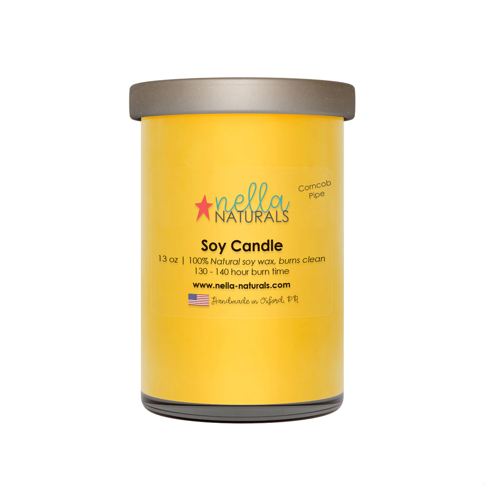 13oz Corncob Pipe Soy Wax Candle