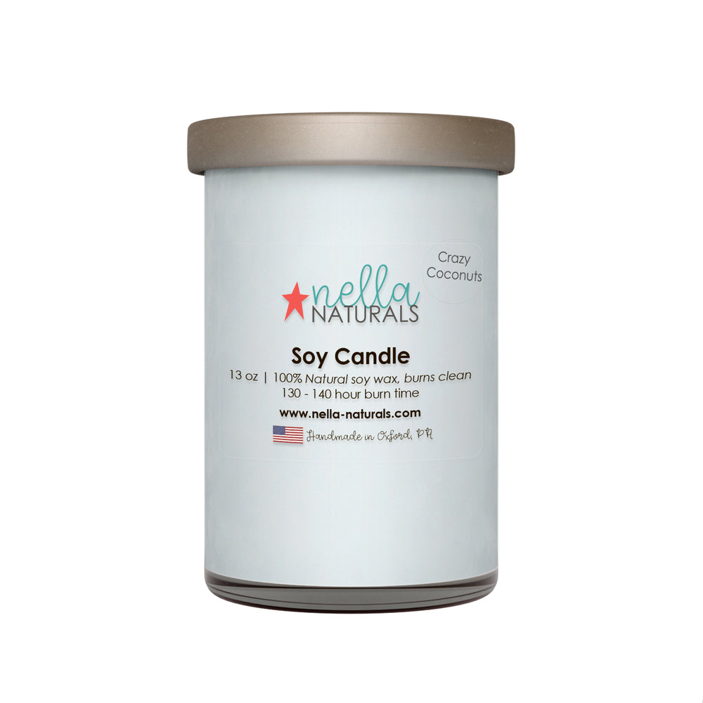 13oz Crazy Coconuts Soy Wax Candle