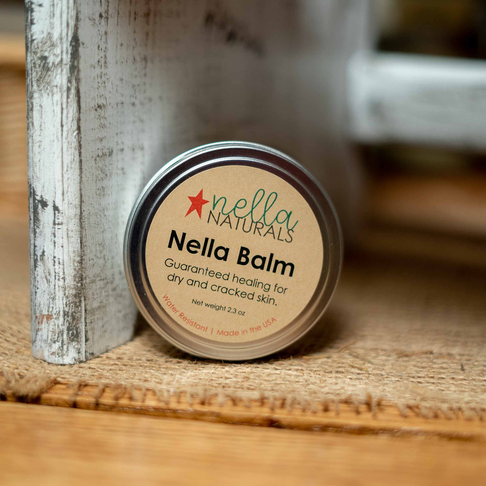 nella-balm on a shelf