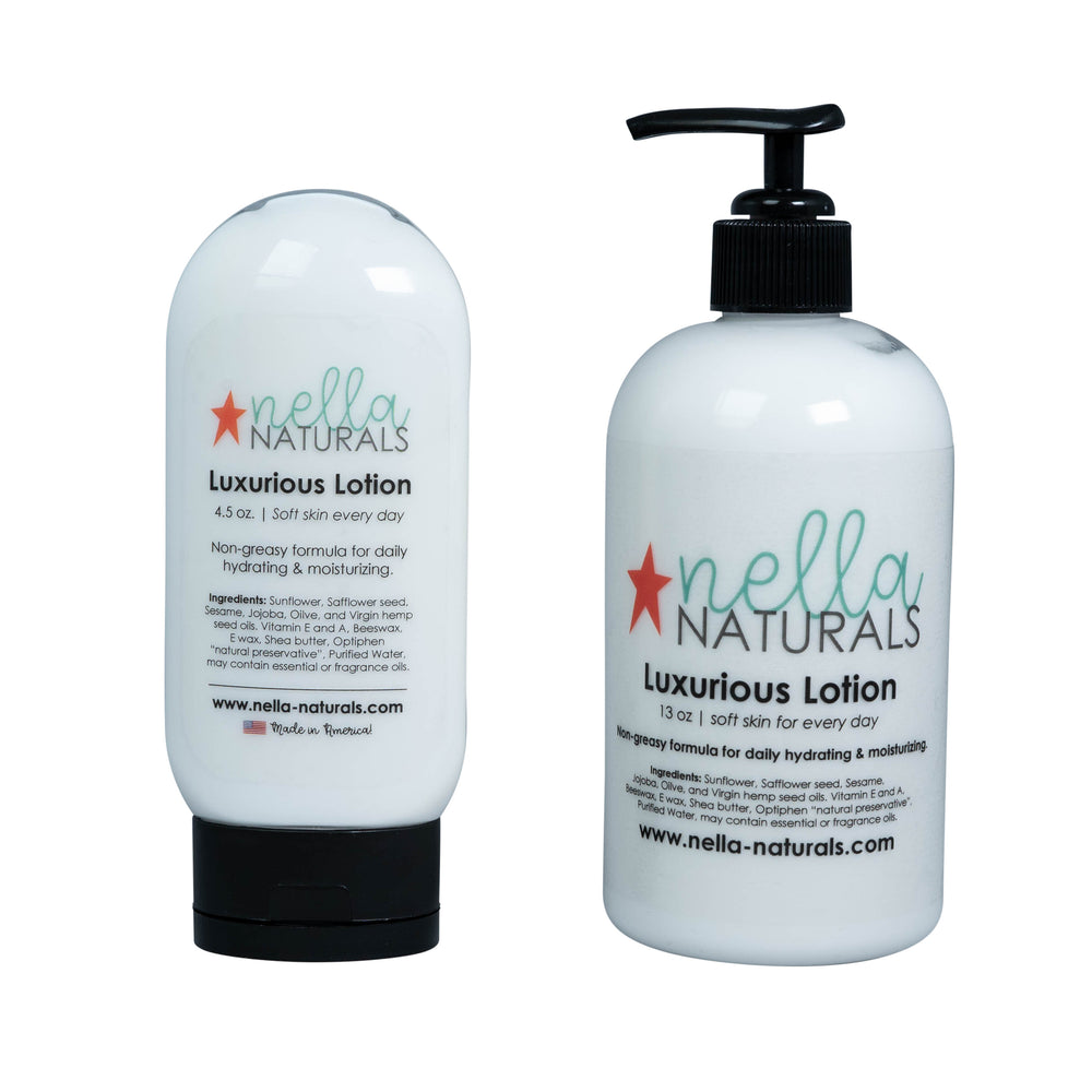 4.5 and 13oz Lavender Peppermint Vanilla Hand Lotion