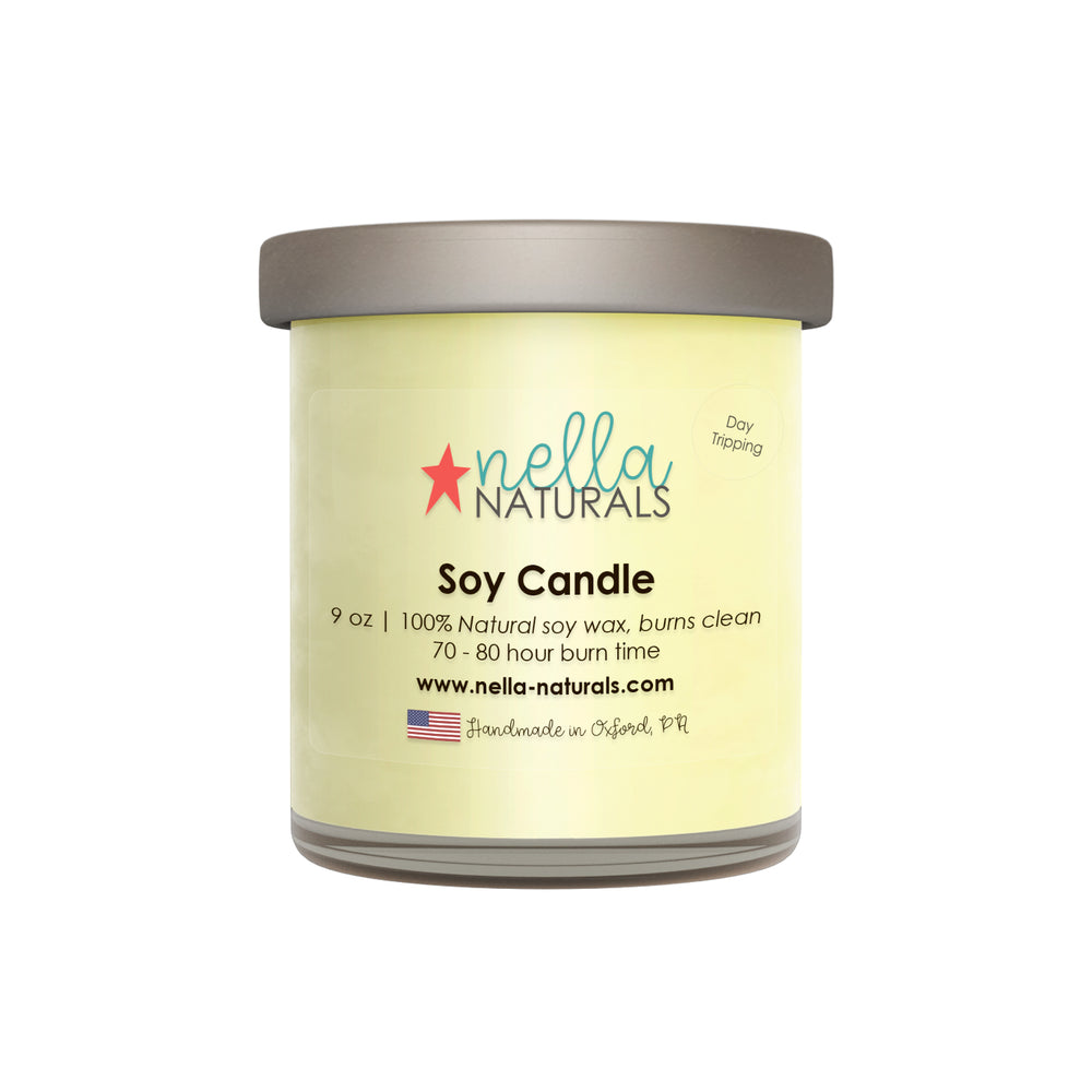 9oz Day Tripping Soy Wax Candle