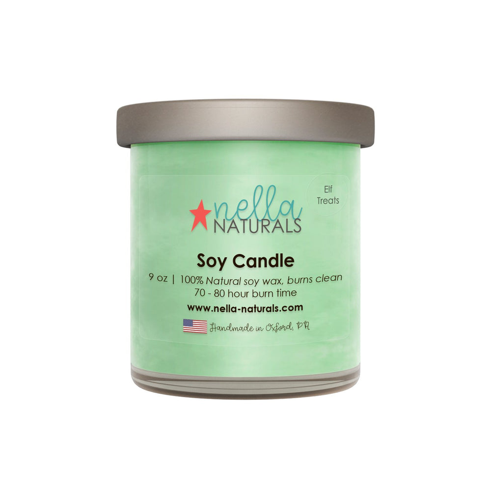 Elf Treats Soy Wax Candle
