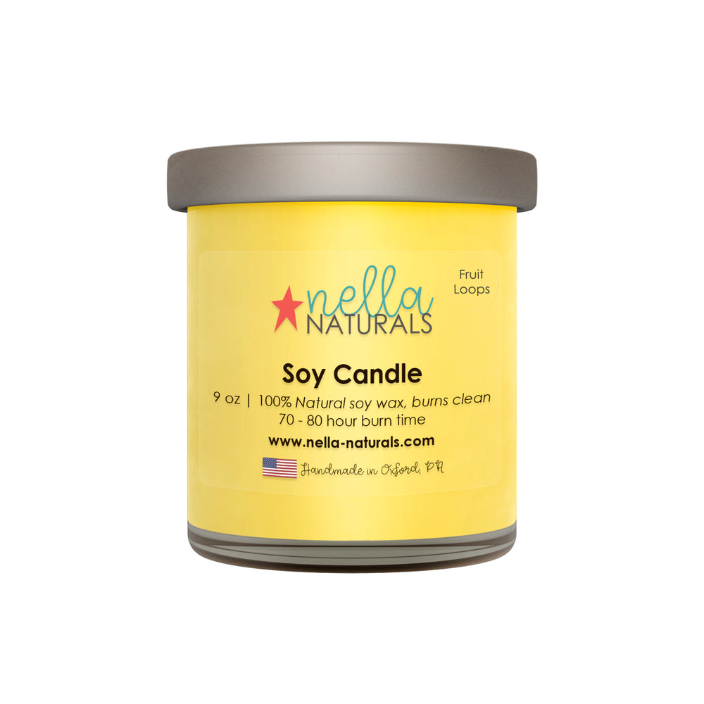 Fruit Loops Soy Wax Candle