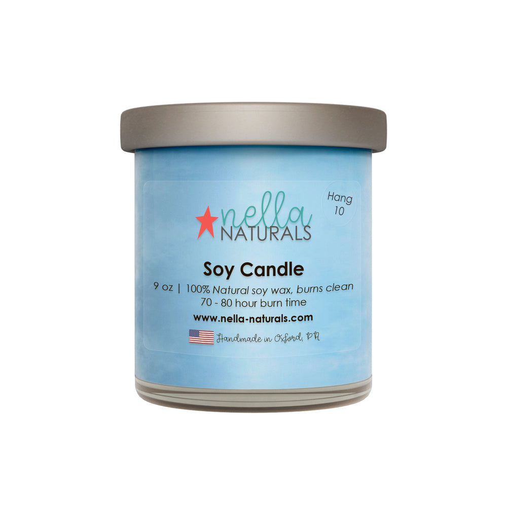 Hang 10 Soy Wax Candle