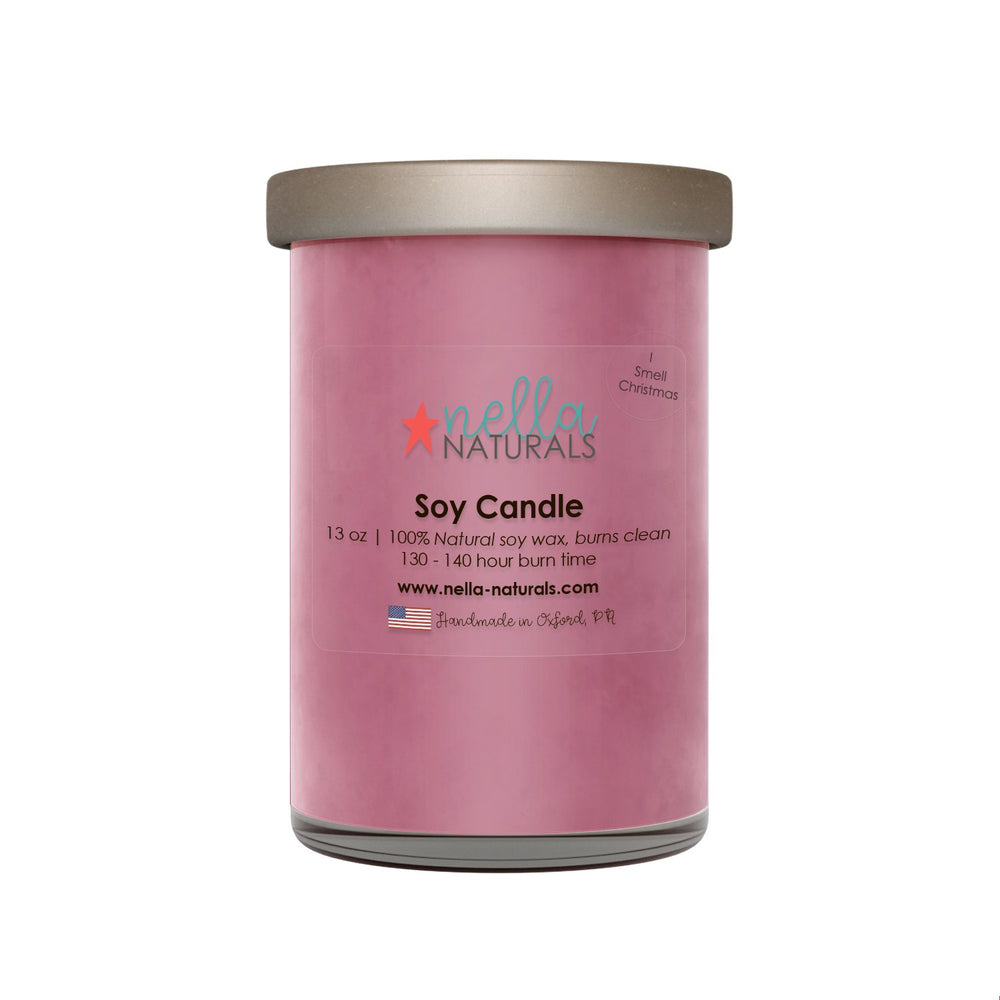 13oz I Smell Christmas Soy Wax Candle