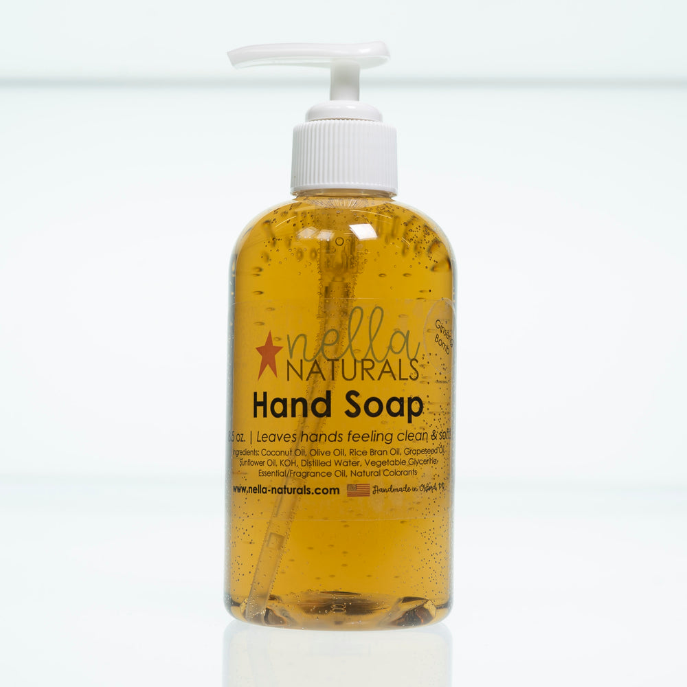 Ginseng Bomb Liquid Hand Soap white background