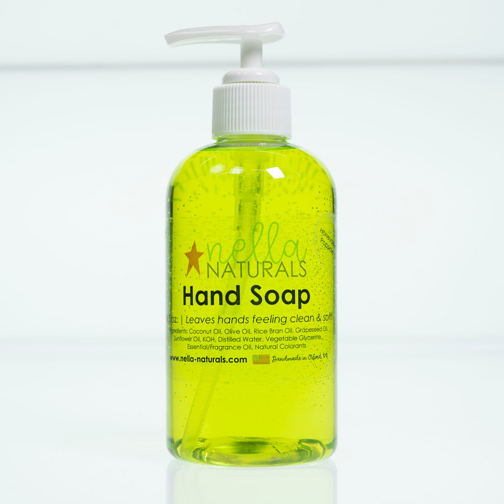 Honeydew Popsicle Liquid Hand Soap white background