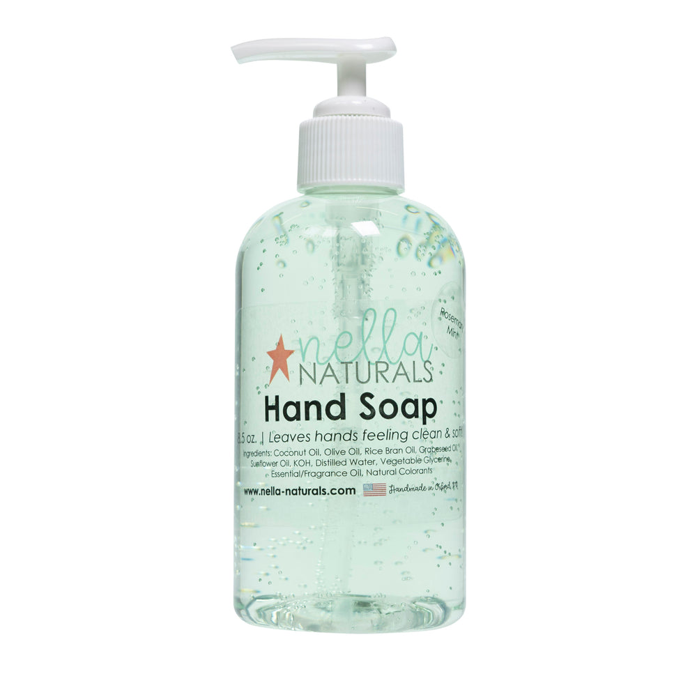 Rosemary Mint Liquid Hand Soap
