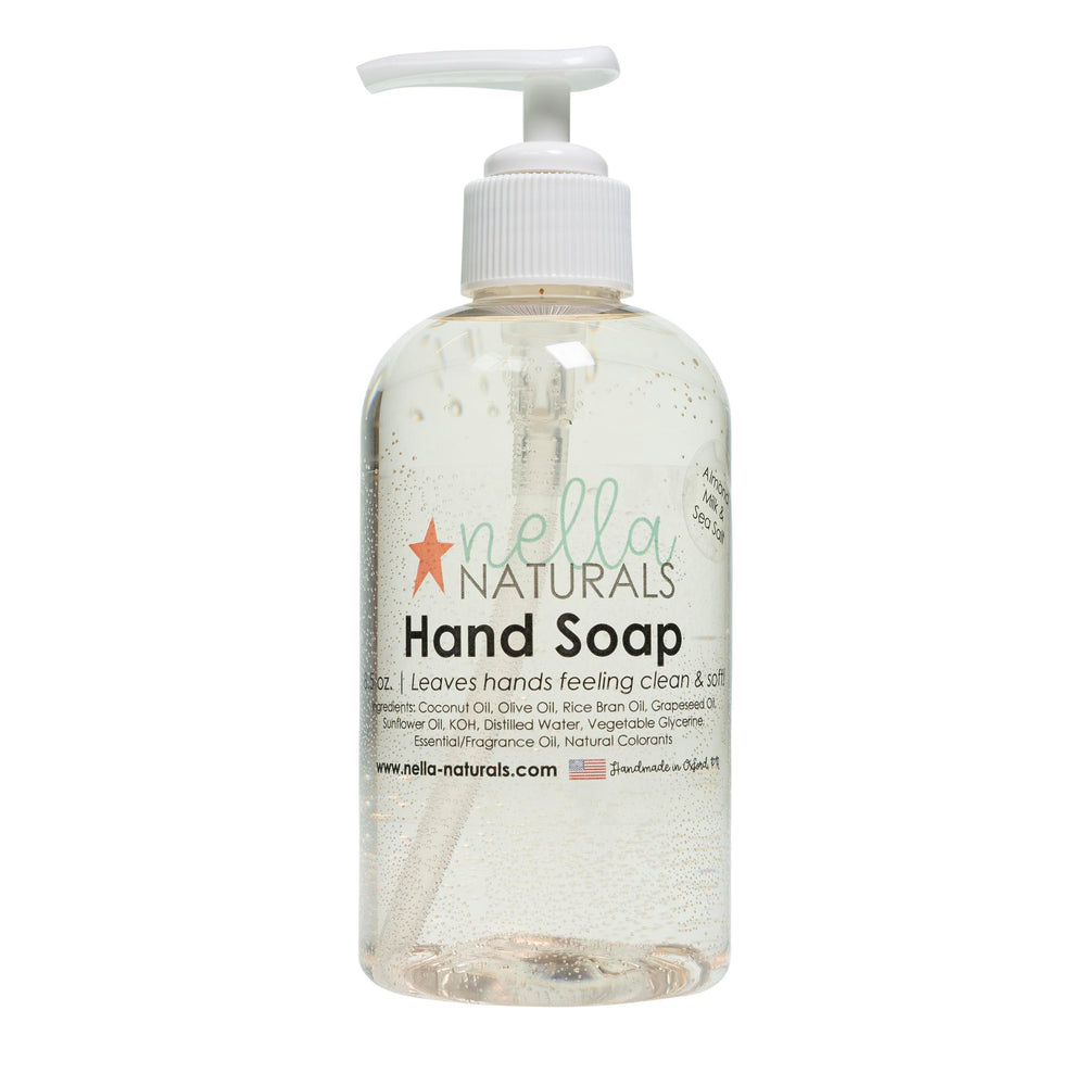 Almond Milk & Sea Salt Liquid Hand Soap