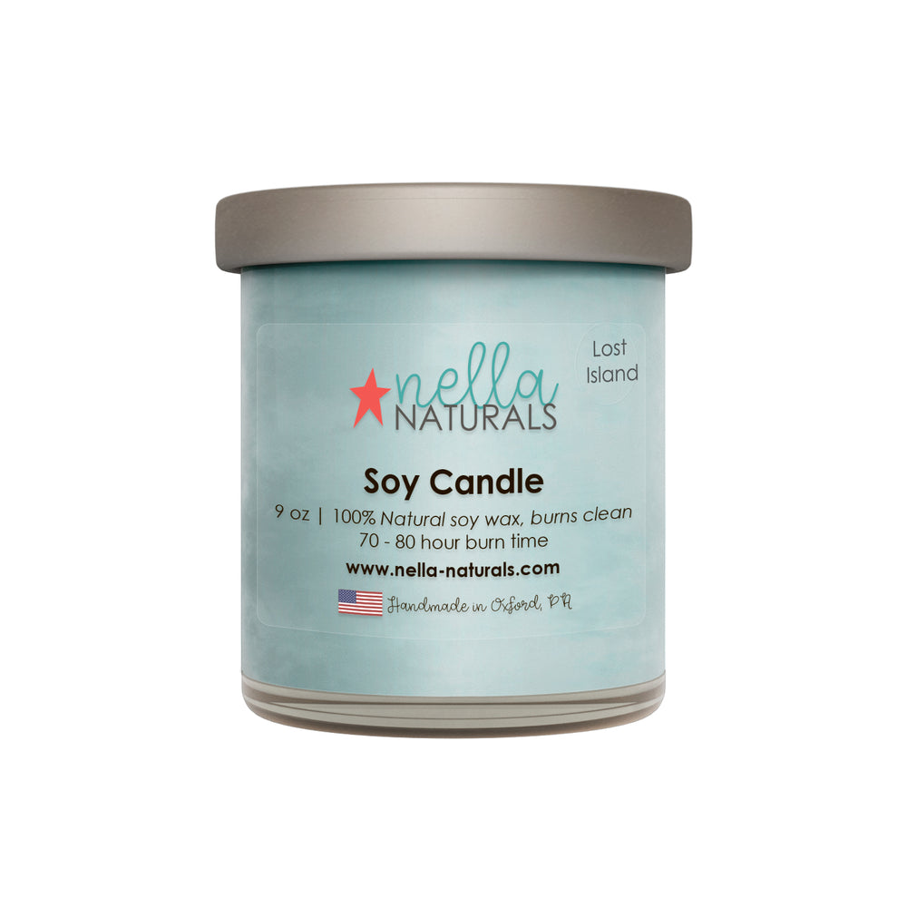 Lost Island Soy Wax Candle