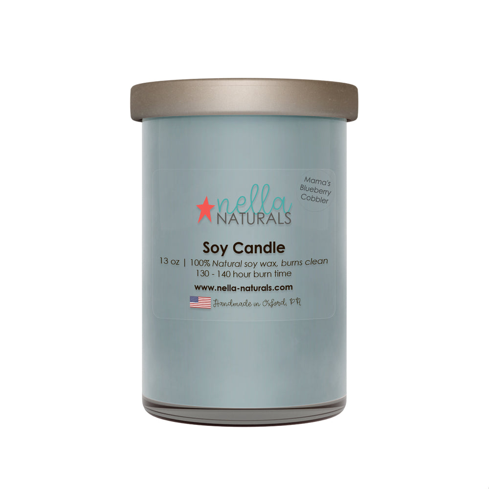 13oz Mama's Blueberry Cobbler Soy Wax Candle