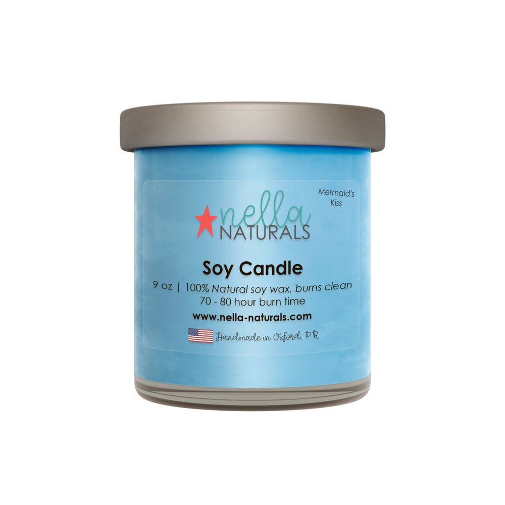 Mermaid's Kiss Soy Wax Candle