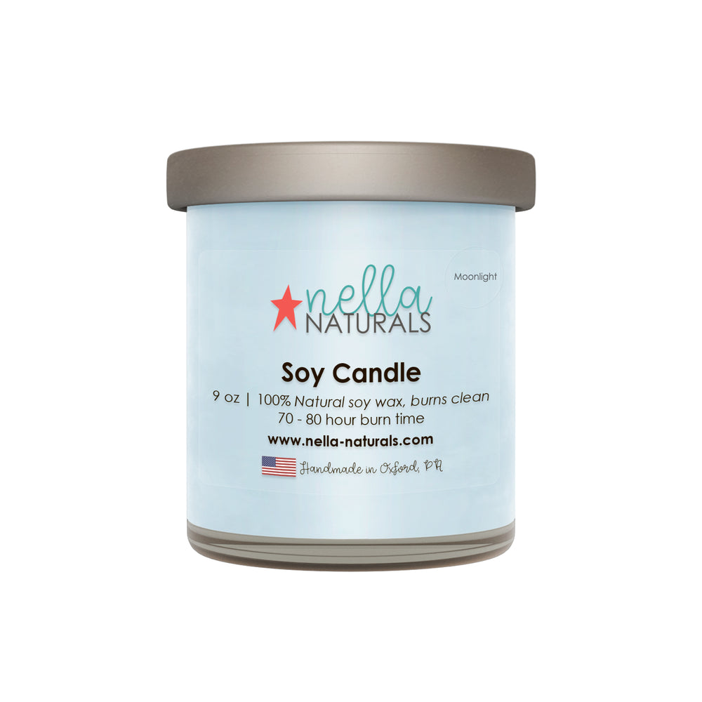 9oz Moonlight Soy Wax Candle