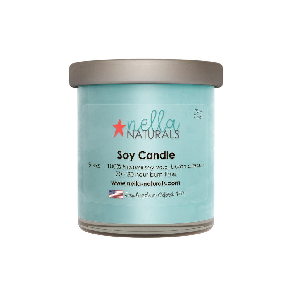 Pine Tree Soy Wax Candle