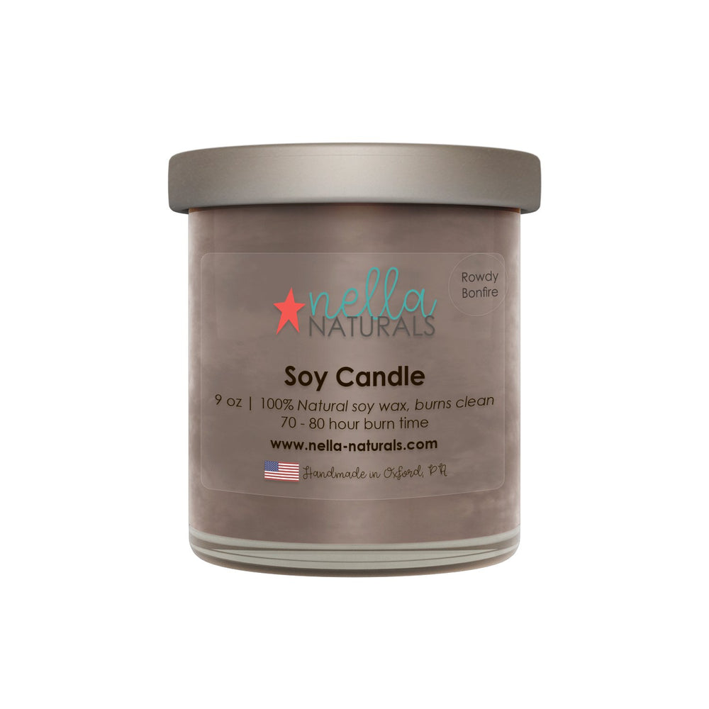 Rowdy Bonfire Soy Wax Candle