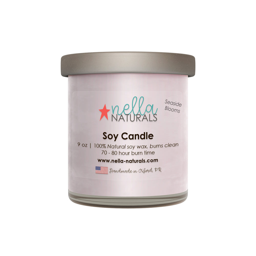 Seaside Blooms Soy Wax Candle