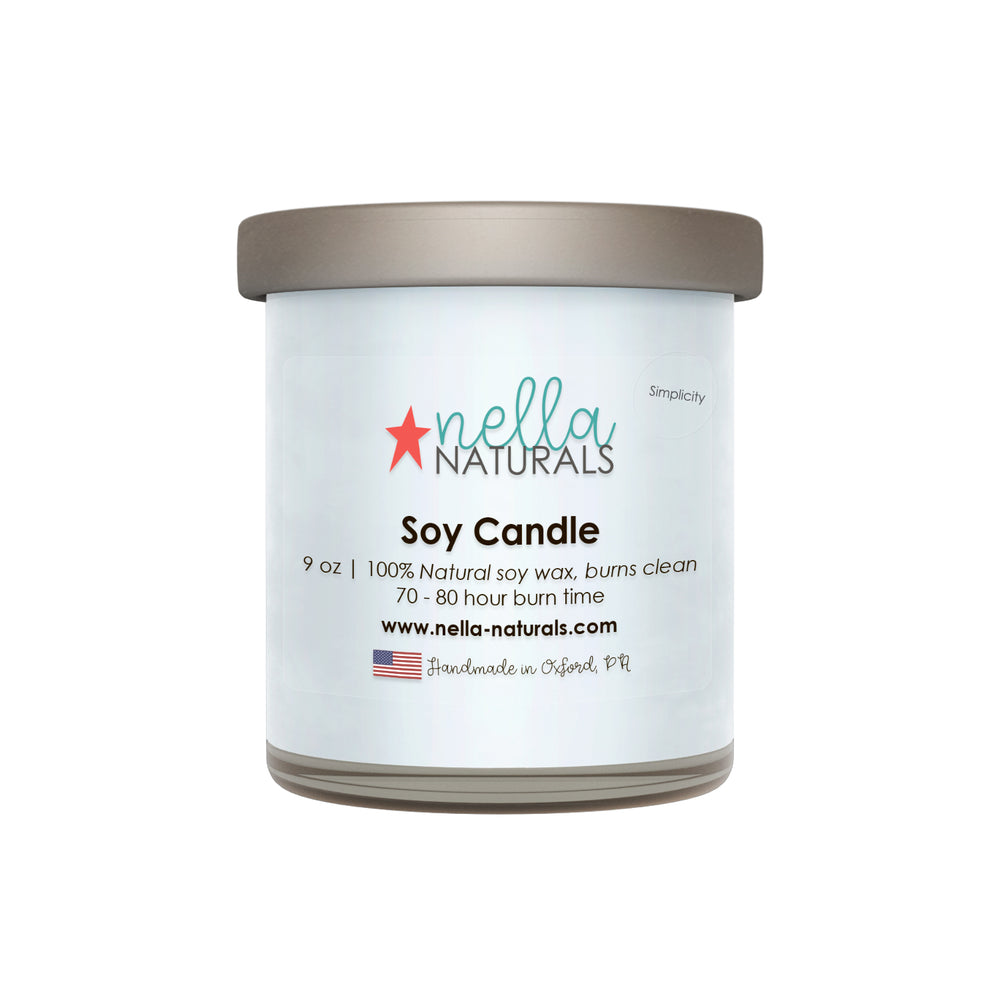 9oz Simplicity Soy Wax Candle