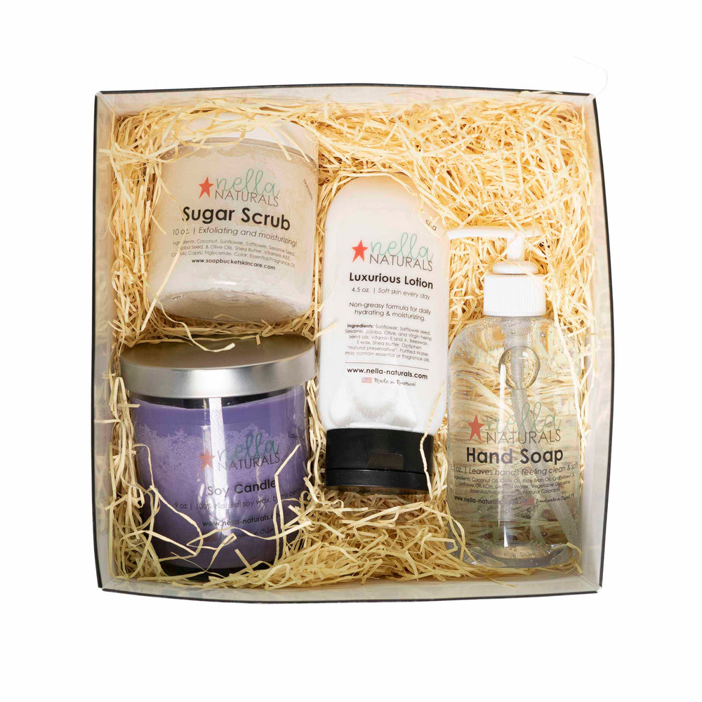 Spa Gift Set Small Top View