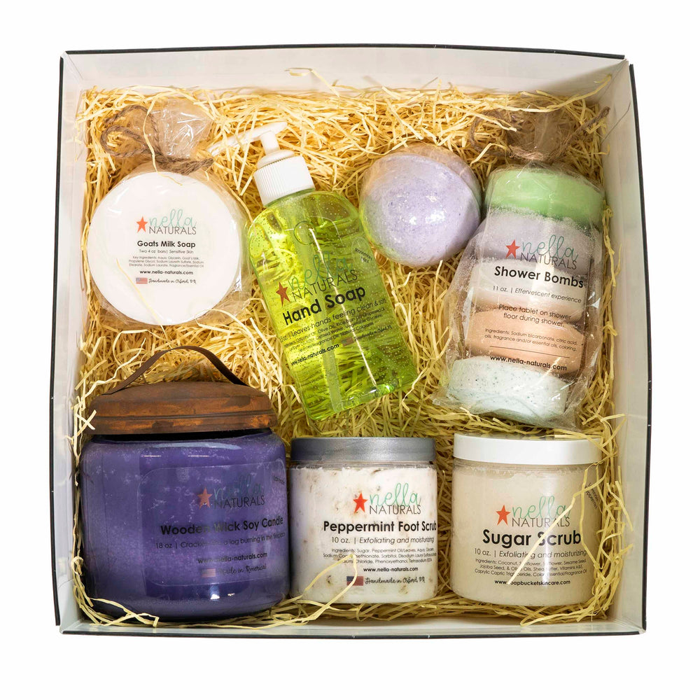 Spa Gift Set Large Top View